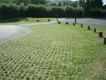 gach trong co san vuon gạch trồng cỏ lót sân vườn bó gốc cây ốp ta luy gạch lỗ trang trí cảnh quan