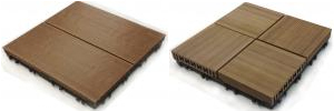 Gạch nhựa gỗ, gạch nhựa lót ngoài trời, gạch gỗ nhựa cao cấp, nhựa gỗ zenwood, Koei Industrial